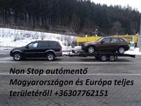 0-24 autómentő M7 - Non stop autómentés M7 - Bikázás